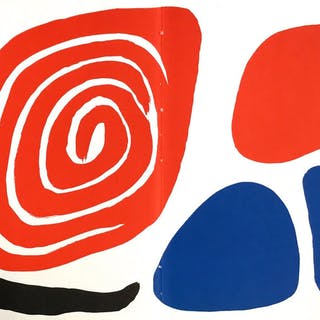 Original lithograph, 1972 - Alexander Calder