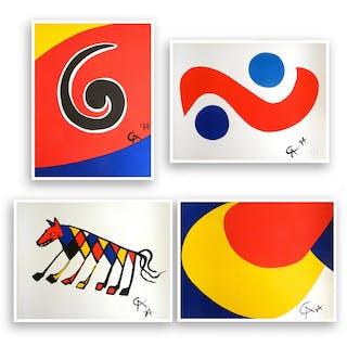 Skyswirl, Skybird, Beastie and Convection (set of 4), 1975 - Alexander Calder