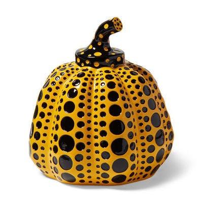 Pumpkin (Yellow & Black), 2013 - Yayoi Kusama