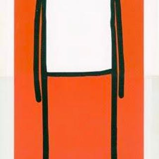 Standing Figure (Orange), 2013 - Stik