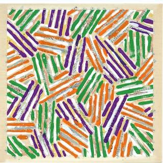 Original silkscreen, 1977 - Jasper Johns