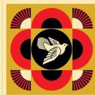 Dove Geometric (set of 3), 2017 - Shepard Fairey