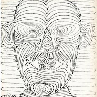Untitled (Head), 1947 - Alexander Calder