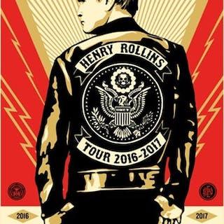 Henry Rollins, 2016 - Shepard Fairey