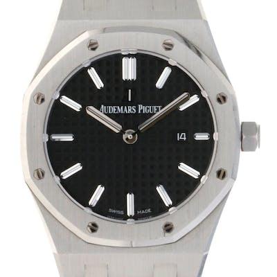 AUDEMARS PIGUET 33MM QUARTZ (2019 B+P) #67650ST.OO.1261ST.01- wristwatch