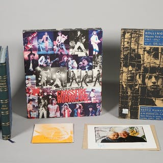 THE ROLLING STONES:   a group of three limited edition publications