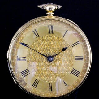 A Victorian lady's 18ct gold cased pocket watch by Joyce & Murray