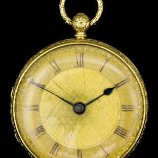 A Victorian lady's 18ct gold consular cased pocket watch...