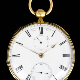 A good Victorian 18ct gold consular cased pocket watch by Charles Frodsham