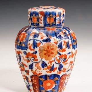 Early 20th Century Japanese Imari Jar