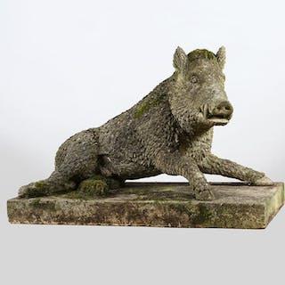 Garden statue of The Uffizi Boar