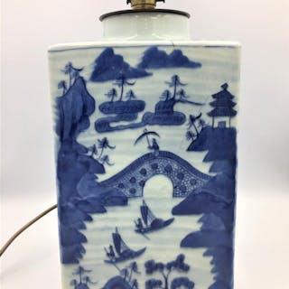 19th Century Canton Tea Canister