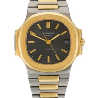 Patek Philippe | Nautilus, Reference 3800/1stainless Steel And Yellow