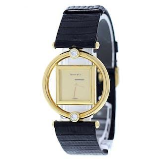 Tiffany & CO. Paloma Picaso 18k Yellow Gold Watch Original Box