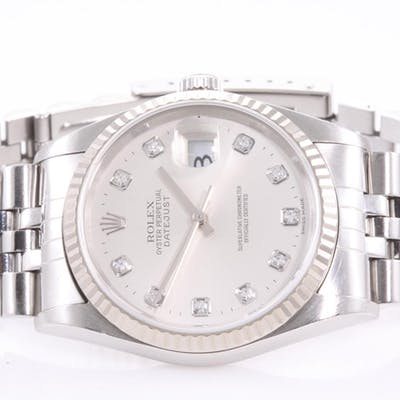pretty nice 313ee 13269 Rolex Datejust Mens Watch 16234G Lot # 55 Sydney | Barnebys