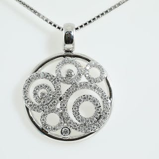 0.60ct Diamond Pendant Lot # 141 Melbourne