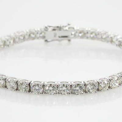 11.18ct Diamond Tennis Bracelet Lot # 32 Sydney