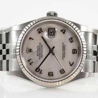 Rolex Datejust Mens Watch 16234NA Lot # 56 Melbourne