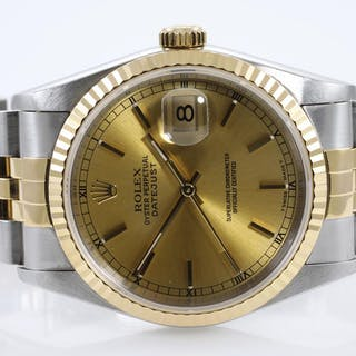 Rolex Datejust Mens Watch 16233 Lot # 24 Adelaide
