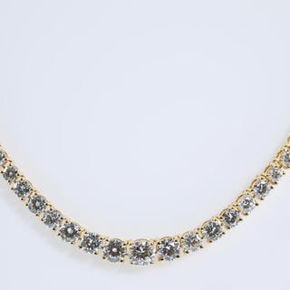 11.67ct Diamond Tennis Necklace Lot # 80 Adelaide