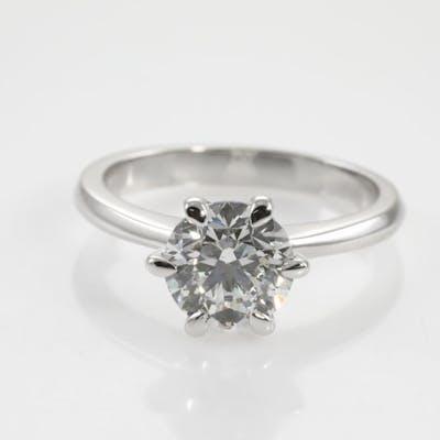 1.80ct Round Diamond Solitaire Ring GIA E SI2 Lot # 45 Sydney