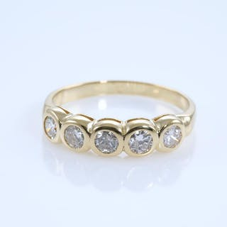 0.45ct Diamond Eternity Ring Lot # 106 Brisbane