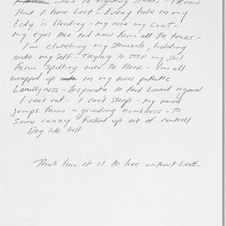 Fighting for Love, 1998 - Tracey Emin