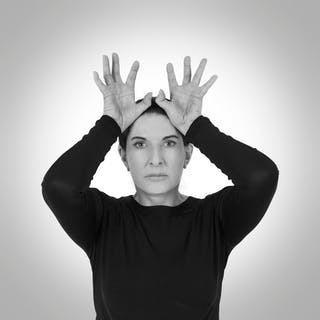 Hands as Energy Receivers, 2014 - Marina Abramovic