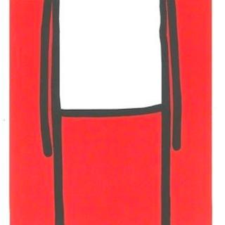 Standing Figure (Red), 2013 - Stik