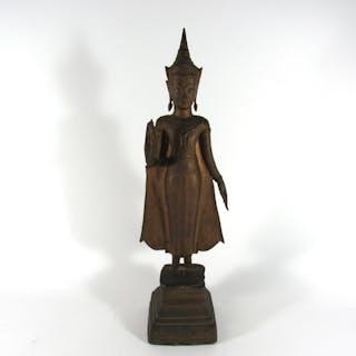 Bronze Thai Buddha.