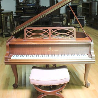STEINWAY & SONS. Piano Serial #334470.