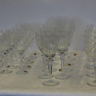 Rogaska Gallia Lead Crystal Glasses