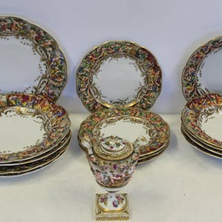 Lot of Capodimonte Porcelain.