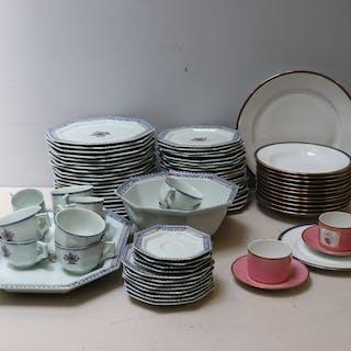 LIMOGES . 2 Lots Of Limoges Porcelain Together