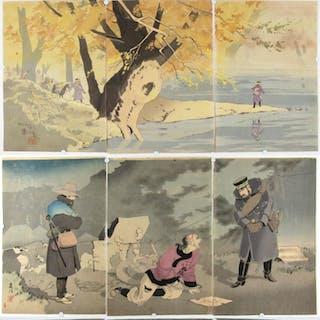 TAGUCHI, Beisaku (Japanese, 1864-1903).