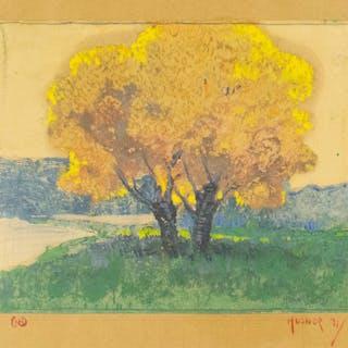 NILS HOGNER (AMERICAN, 1887-1970).