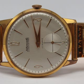 JEWELRY. Men's A.Marchand Watch with 18kt Gold