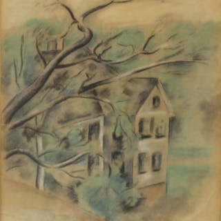 Max Weber (USA/Fr/Russian1881 - 1961) Signed