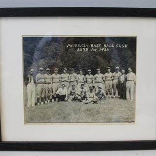 BABE RUTH . Signed Photo 1 June 1936 W / COA