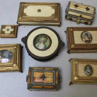 Lot Of Assorted Boxes and Music Boxes.