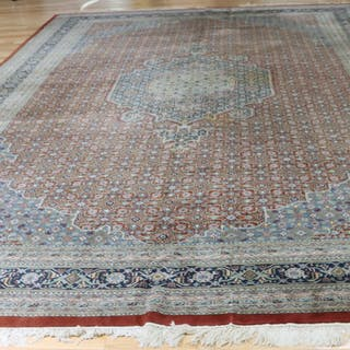 Large Vintage And Finely Hand Woven Roomsize