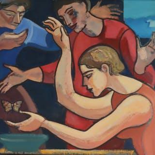 LELAND BELL (AMERICAN, 1922 - 1991).