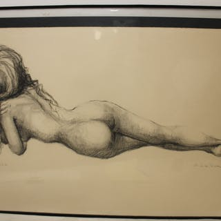 P.LETILLIERE. Signed And Numbered Print .