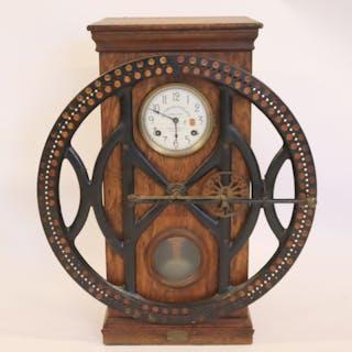 "Original ""Dey Time Register Clock"""