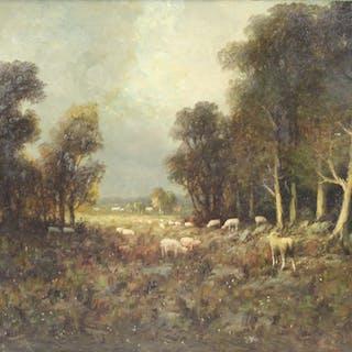 WESLEY WEBBER (AMERICAN, 1841-1914).