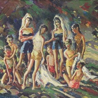 JOHN COSITGAN (AMERICAN, 1888-1972).