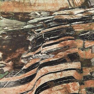Banded Rock, Precambrian Shield Series by Edward John Bartram