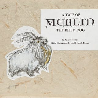 A Tale of Merlin the Billy Dog by Books and Reference