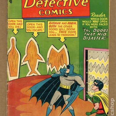 Detective Comics (1937 1st Series) 238 GD+ 2.5