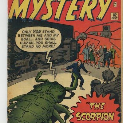 Journey into Mystery (1952) 82 GD+ 2.5